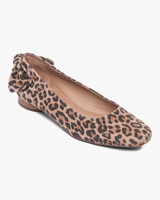 Bernardo Cheetah Print Eloise Ballet Flat 2