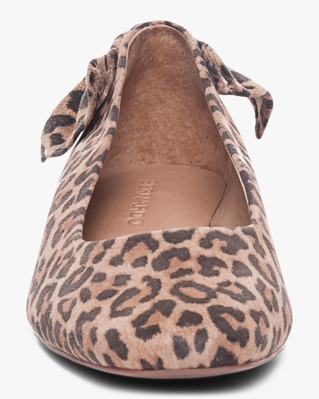 Bernardo Cheetah Print Eloise Ballet Flat 4