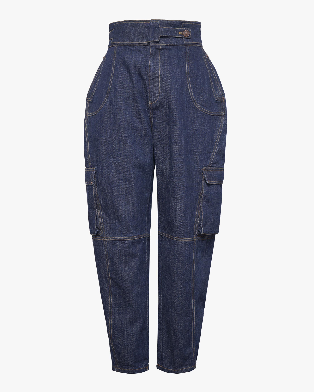 Judy Zhang Denim Worker's Pants 0
