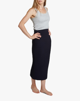 Oyun Slim Ribbed Skirt 2