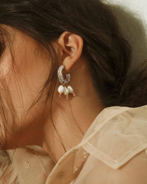 MÄHA & MORENA Ojos Del Mar Hoop Earrings 1