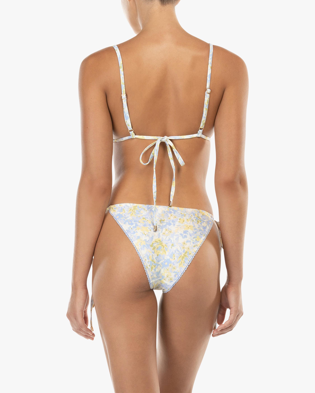 Peony Triangle String Bikini Top 2