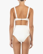 Peony Belted High-Waist Bikini Bottom 2
