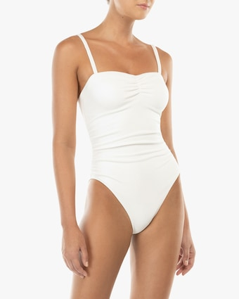 Square-Neck One Piece
