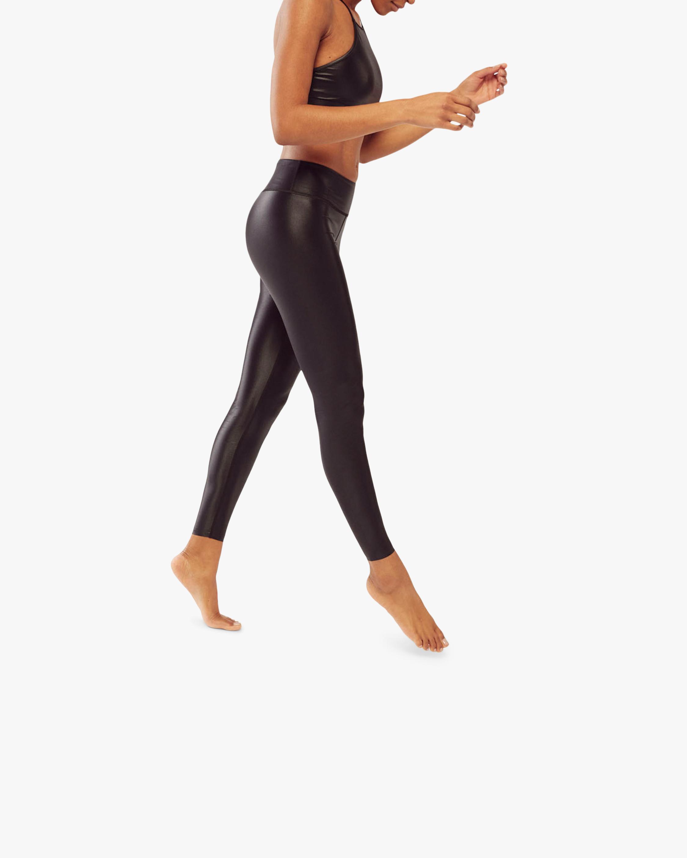 Fierce + Regal The Black Shiny Leggings 2