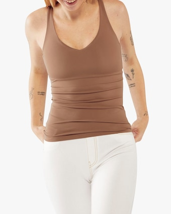 Fierce + Regal The Taupe Cami Tank 1
