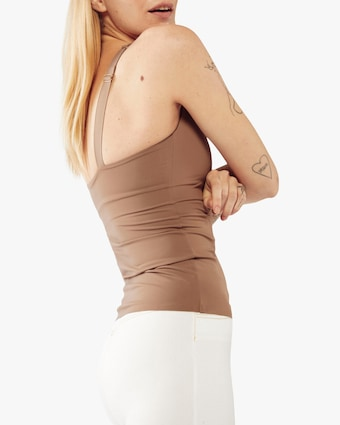 Fierce + Regal The Taupe Cami Tank 2