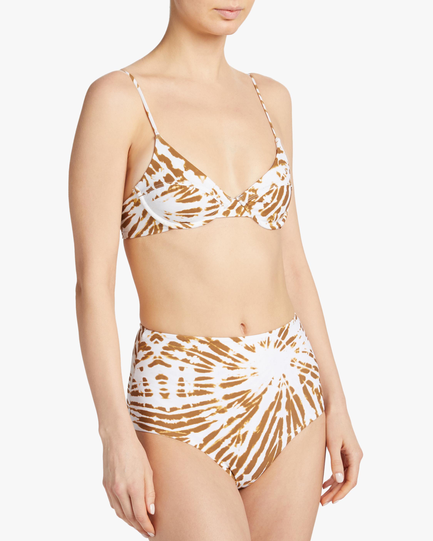 Mikoh Tie Dye Mumuroa Underwire Bikini Top 3