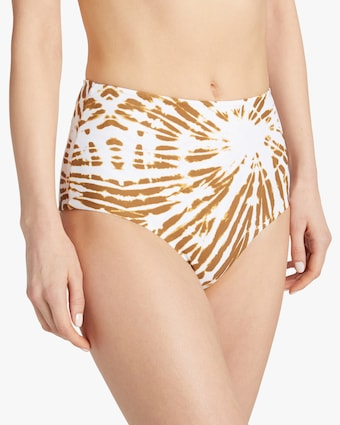 Mikoh Tie Dye Lami High-Waist Cheeky Bikini Bottom 2