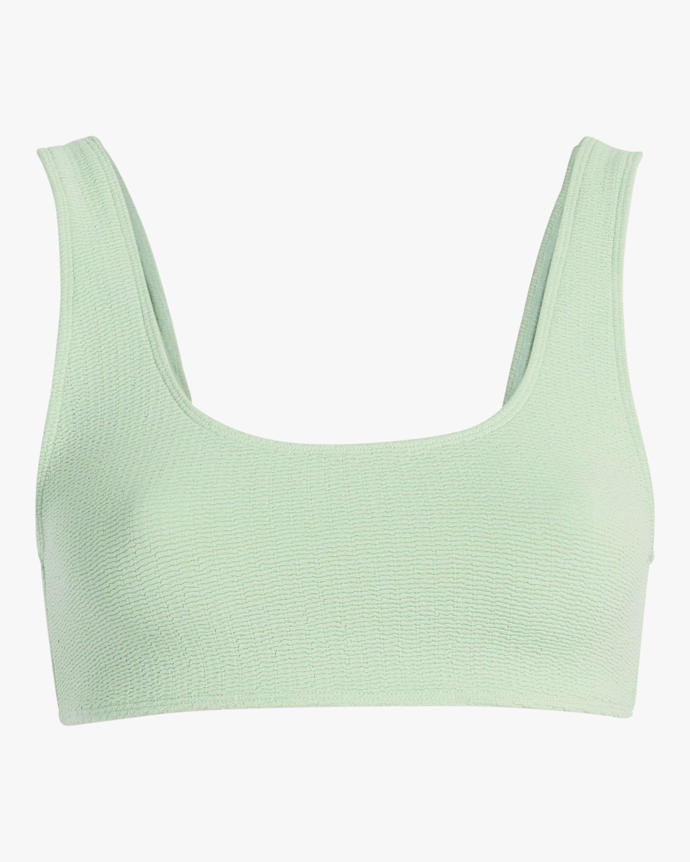 Mikoh Keala Textured Scoop Bikini Top 1