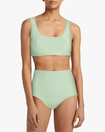 Mikoh Keala Textured Scoop Bikini Top 3