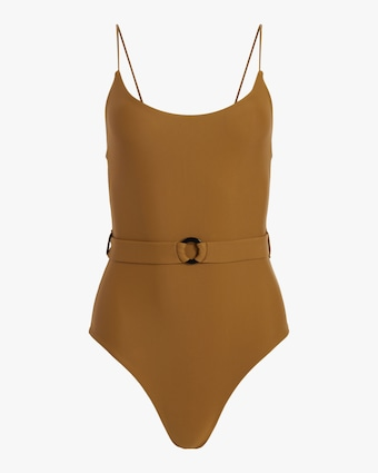 Mikoh Mila Modern Belted One-Piece Swimsuit 2