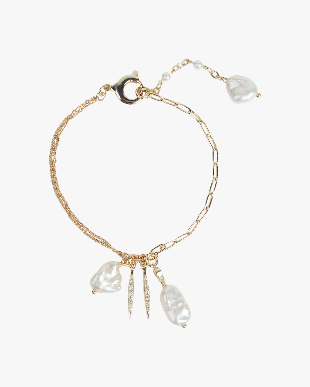 River Charm Cluster Bracelet