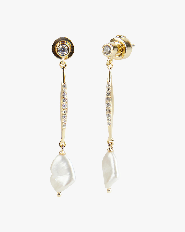 River Bar Drop Earrings