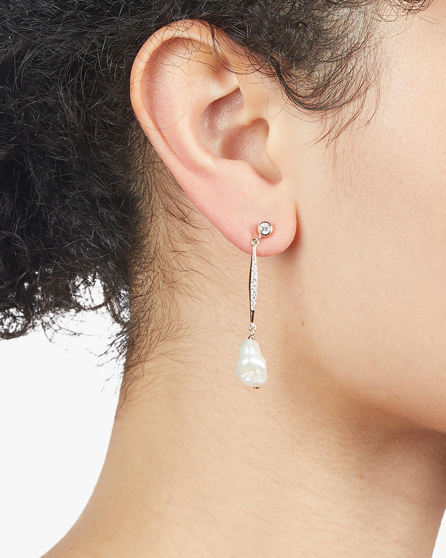 Carolee River Bar Drop Earrings 1