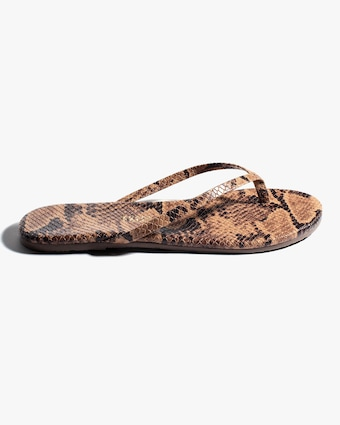 The Coco Snake Print Flip Flop