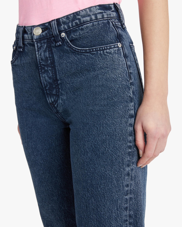 rag & bone Ruth Super High-Rise Straight Jeans 4