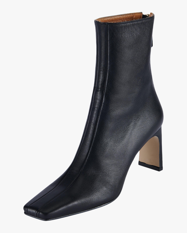 Ribbon Square Thin Boot