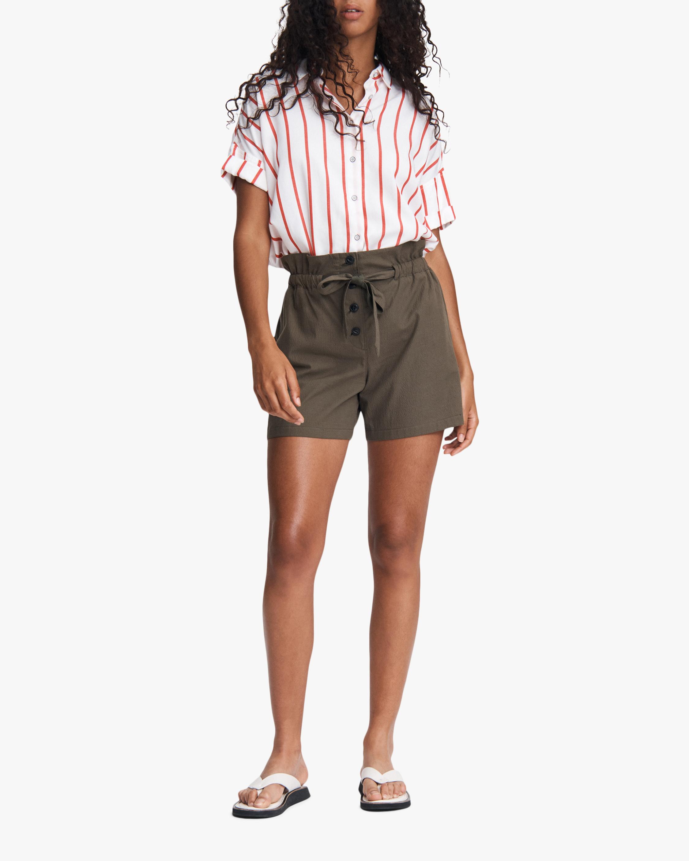 Camille Seersucker Shorts