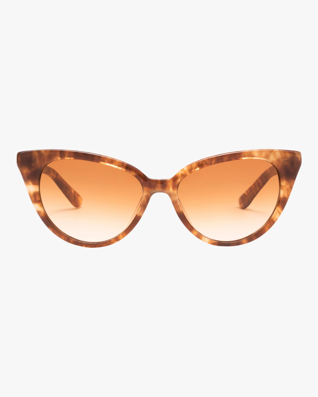 La Femme Tortoise Cat-Eye Sunglasses