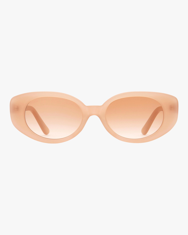 A La Plage Oval Sunglasses