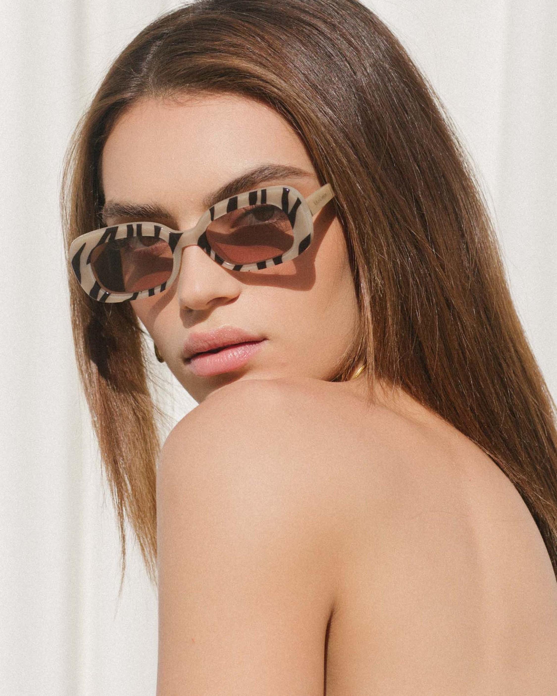 Velvet Canyon El Tigre Rectangular Sunglasses 2