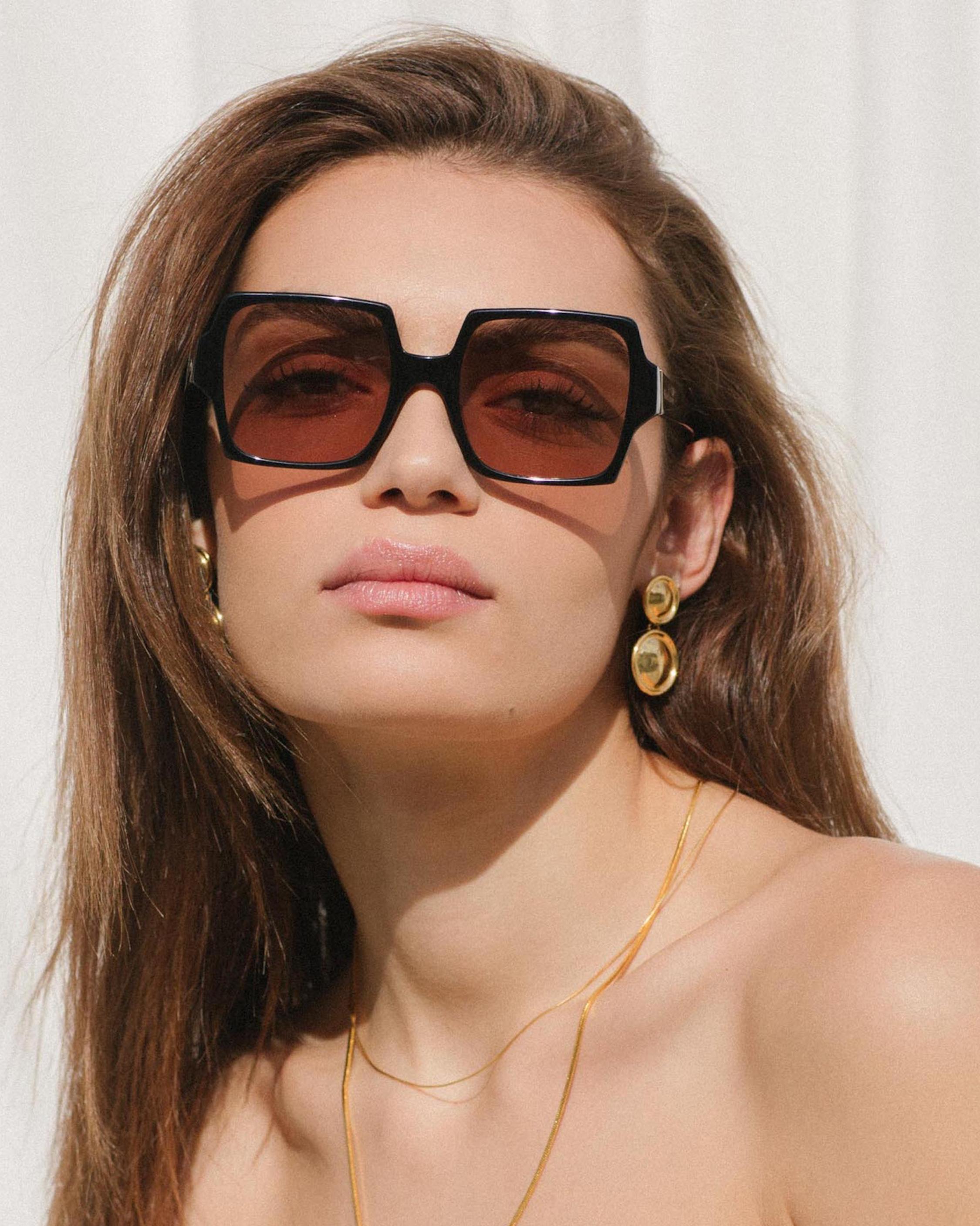 Velvet Canyon TV Eyes Square Sunglasses 1