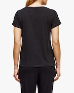 Eileen Fisher Short-Sleeve V-Neck Tee 2
