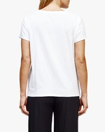 Eileen Fisher V Neck Short-Sleeve Tee 1