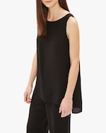 Eileen Fisher Bateau Neck Long Tank 1