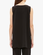 Eileen Fisher Bateau Neck Long Tank 2