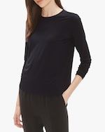 Eileen Fisher Crew Neck Top 1