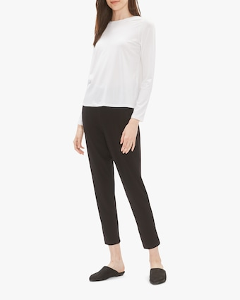 Eileen Fisher Crew Neck Top 2