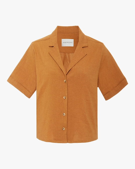 Anemone The Hutton Button-Down Shirt 0