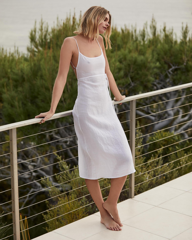 Anemos The KM Tie Midi Dress 2