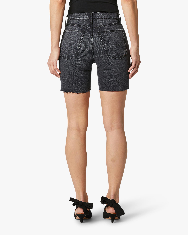 Hudson Hannah Mini Biker Denim Shorts 3