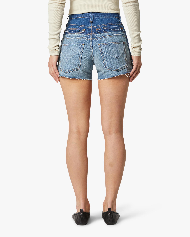 Hudson Double Jean Cut-Off Shorts 4