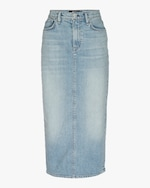 Hudson Paloma Denim Pencil Skirt 0