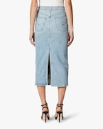 Hudson Paloma Denim Pencil Skirt 4