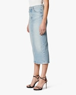 Hudson Paloma Denim Pencil Skirt 5