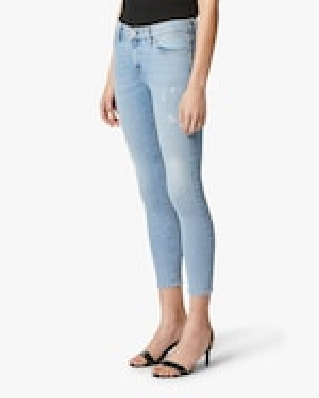 Hudson Nico Mid-Rise Super-Skinny Crop Jeans 1