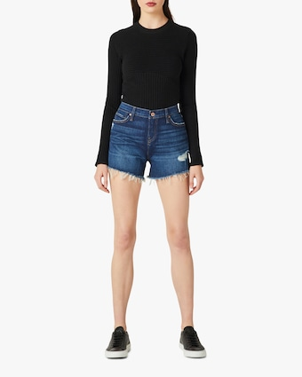 Hudson Gemma Mid-Rise Cut-Off Shorts 1