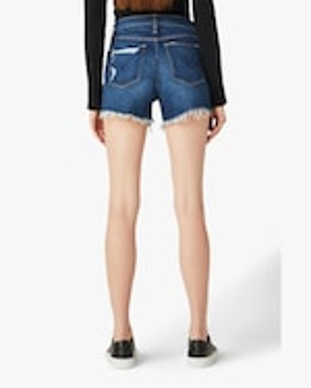 Hudson Gemma Mid-Rise Cut-Off Shorts 3