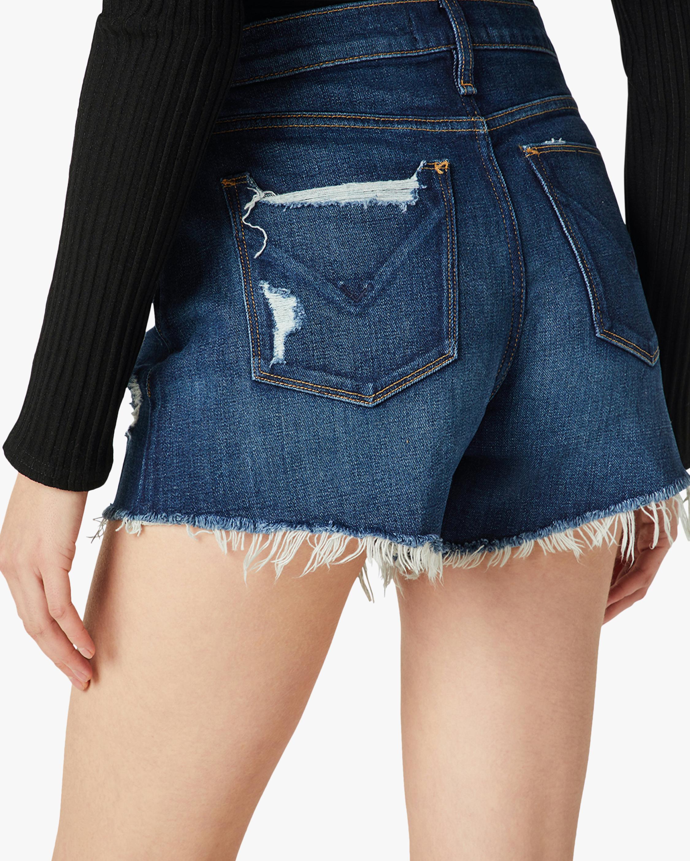 Hudson Gemma Mid-Rise Cut-Off Shorts 4