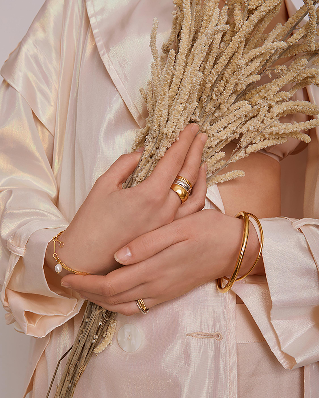 Lady Grey Oval Link Bracelet 1
