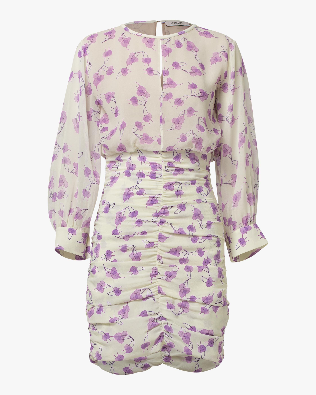 Radiant Leaves Mini Dress