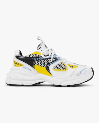 Axel Arigato Yellow & Blue Marathon Runner Sneaker 1