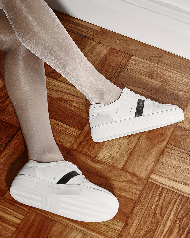 Axel Arigato Black Stripe Platform Sneaker 2