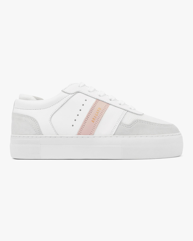 Axel Arigato Pink Stripe Platform Sneaker 1