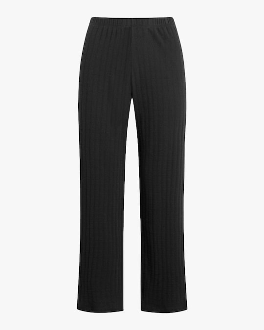 Leset Black Burnout Pants 0
